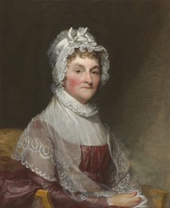 A portrait of Abigail Adams, one of the Founding Mothers.