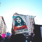 Los Angeles Women's March Rally for DREAM Act