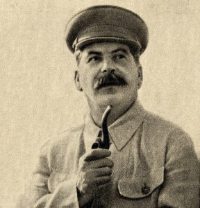 A photo of Josef Stalin.