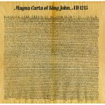 The Magna Carta carried influence on early U.S. political structures.