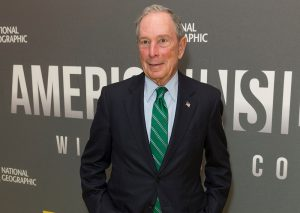 A photo of Michael Bloomberg.