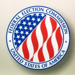 Federal Election Commission door sign, Washington, D.C.