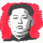 An illustration of Kim Jong-Un.
