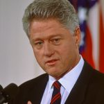 A photo of Bill Clinton in 1997.