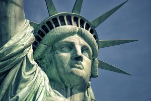 A photo of the Statue of Liberty.