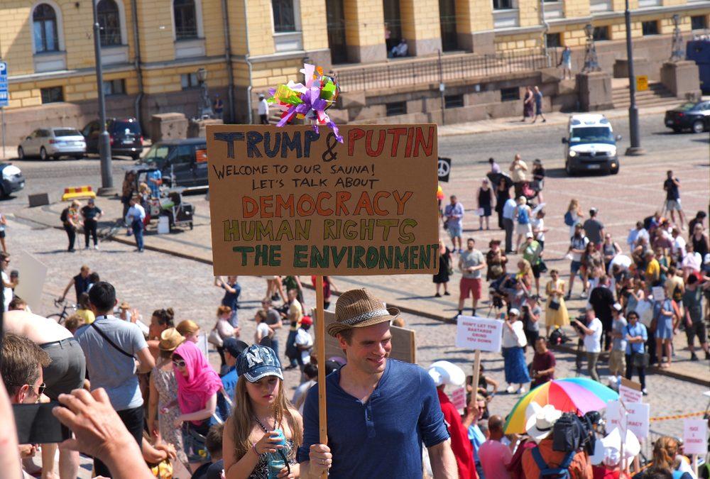 President Trump Lambasted Over Helsinki Summit Comments