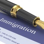 "A document titled, ""immigration."""