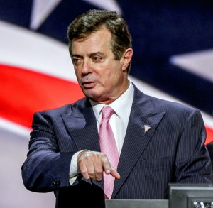 A photo of Paul Manafort, Donald Trump's former campaign manager.