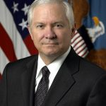 A photo of Secretary of Defense Robert Gates.