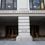 A photo of the outside of the Bureau of Labor Statistics building, located in Washington, D.C.