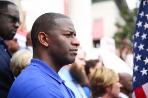A photo of Florida gubernatorial candidate and Tallahassee Mayor Andrew Gillum.
