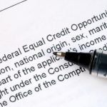 The Equal Credit Opportunity Act became law in 1974.
