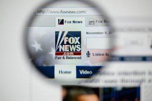 Fox News' website.