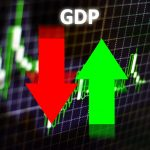 """A chart labeled """"GDP."""""""