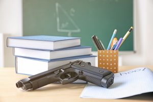 The Department of Education has allowed funds from certain grants to pay for guns to arm teachers in order to prevent school shootings.