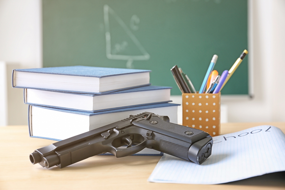 Trump Administration May Fund Guns in Schools