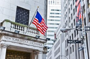 A photo of the New York Stock Exchange.