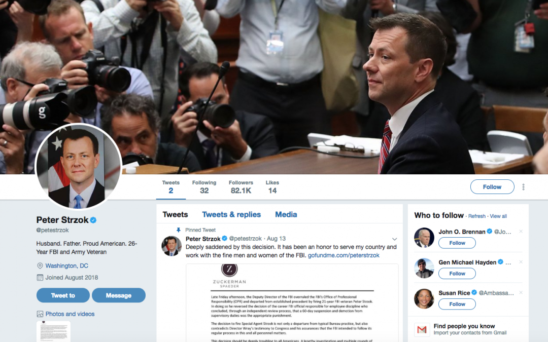Parody Peter Strzok Twitter Fooled Many—Including Us
