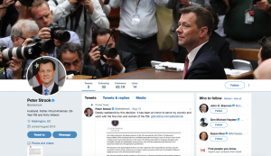 A tweet purporting to be from fired FBI agent Peter Strzok made the rounds in the progressive media, fooling many people, including us.