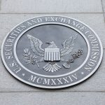 Emblem at the U.S. Securities and Exchange Commission in Washington, D.C.