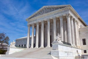A photo of the United States Supreme Court building.