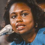 A photo of Anita Hill.