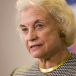 A photo of Supreme Court Justice Sandra Day O'Connor.