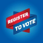 """A computer graphic that reads, """"Register to vote."""""""