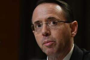A photo of Rod Rosenstein.