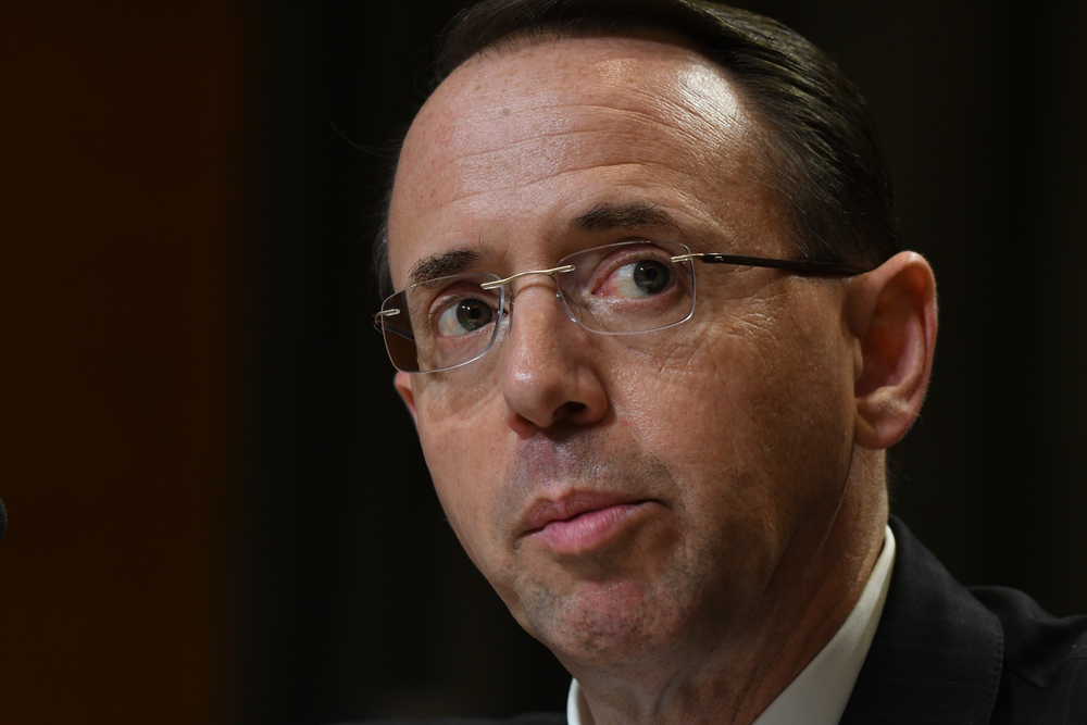Rod Rosenstein Expected to Be Fired