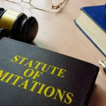 """A legal book titled """"Statue of Limitations."""""""