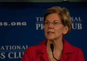 A photo of Senator Elizabeth Warren (D-MA).
