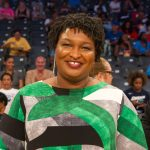 A photo of Stacey Abrams.
