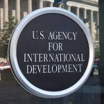 A photo of the U.S. Agency for International Development.
